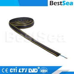 Retardateur de flamme de gros de conduits de câble PVC de systèmes de conduits de câblage électrique décoratif