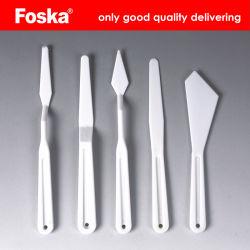 Foska горячая продажа 5PCS PP искусства палитра ножа