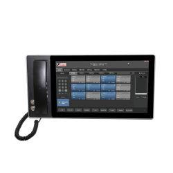 Knddt-2-A15 écran capacitif de qualité industrielle Dispatcher Système téléphonique