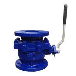ANSI/DIN/norma JIS 2 piezas de acero inoxidable de válvula de bola de brida de todo tamaño