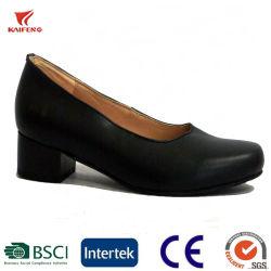 Agent de Lady Chaussures en cuir véritable haut talon