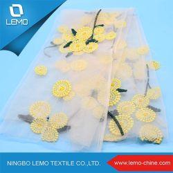 الموردون الصين شبكة نسيج التطريز النسيج Lace Chemical Net نسيج