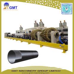Gspe-G 50-800mm UHMW PET Stahldraht verstärkte den verdrehten Rohr-Strangpresßling, der Maschinen-Zeile bildet