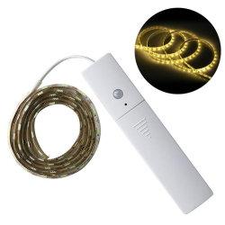 Capteur de mouvement IRP 1m 60LED Corde placard Strip light 60 LED de lumière flexible pour armoire penderie couloir