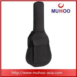 Sacchetto impermeabile nero della chitarra dello strumento musicale del poliestere
