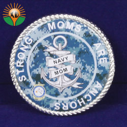 preço de fábrica de boa qualidade de Metal Personalizada Loja Coin Antique para Dom