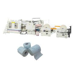 Kleber-Laminierung-das kleine Toilettenpapier färben, das Maschinen-Preis bildet