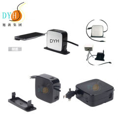 De in het groot Schroef Opgezette Lader USB van de Kabel van de Gegevens van de Uitbreiding van het Hotel Intrekbare Bulk voor Mobiele Telefoon
