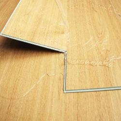 Material impermeável de pisos de PVC de Madera Laminados Spc Clique em piso de mosaico de pranchas
