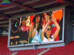 P10 étanche plein écran LED de couleur des tableaux de bord pour Basketball Football Sports Stadium