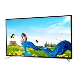 Flacher Bildschirm-Farbfernsehen LED Fernseher Fernsehapparat-LCD 55 Zoll