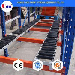 Nave industrial medio selectivo de almacenamiento automático de la obligación de laminación de acero Estante para empresa de logística