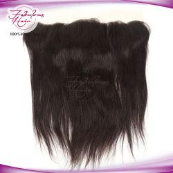 أسعار منفذ المصنع جودة عالية 12A الشعر Extention Swiss Lace أمامي