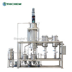 Strumentazione frazionaria di distillazione del percorso di scarsità dell'alto di purificazione di 99% olio di Cbd