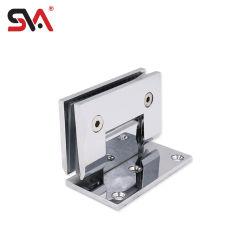 Sva-221Китая ванная комната латунной или из нержавеющей стали и сплавов цинка 90 градусов душ стекла петель задней двери