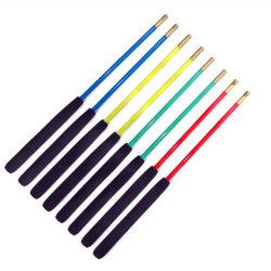 Palos para diábolo plásticos reforzados con fibra de vidrio o de aleación de aluminio
