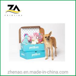 Custom красочной упаковки из гофрированного картона бумаги продукты закуска ПЭТ в салоне