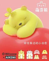 Beren in de dop Notebook Post Soft Cute Decompression Toy Ornamentssquishy Toy Voor kinderen en volwassenen