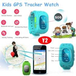 Q50 Original varios idiomas a los niños Tracker GPS reloj con alarma de despegue (Y2)