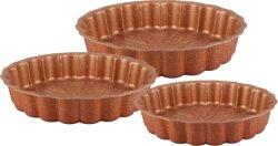 Herz Form 3pcs Kuchenform Set Antihaftbeschichtung