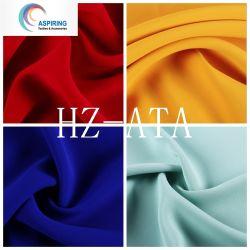 tessuto chiffon del raso di seta di 100%Polyester 50dx75D per indumenti da notte