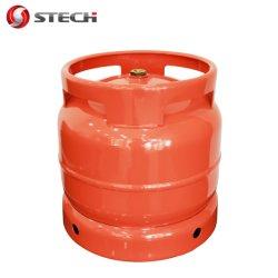 PUNKT Cer ISO4706 6kg 13L leert LPG/Propane/Butane Gas-Zylinder/Becken/Flasche Südafrika Zimbabwe für das Kochen der kampierenden BBQ-Küche