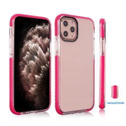 De flexibele Transparante Dekking van het Geval van de Telefoon TPU van de Bumper TPE Zachte Achter voor iPhone 11 11 PRO Maximum