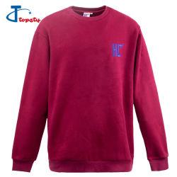 Qualidade superior de moda Vintage personalizados 80 Algodão 20 Homens de poliéster Fleece Camisolas de algodão