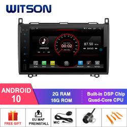 Processeurs quatre coeurs Witson Android 10 DVD de voiture GPS pour MERCEDES-BENZ A/B, classe A-W169(2005-2011)Benz B-W245 (2005-2011)Benz Viano (2009-2011) l'écran CAPACTIVE 1024*600(Fo