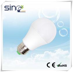 مصباح LED A60 بقوة 9 واط طراز E27 من تصنيع المعدات الأصلية (OEM) في الصين مع علامة CE