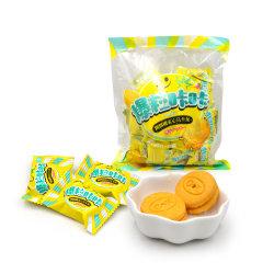 ぽんと鳴るキャンディーは柔らかいクッキーレモン味を記入する