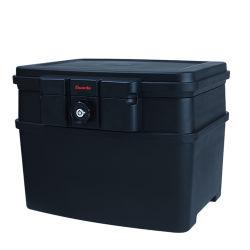 Os arquivos de formato A4 de plástico Caixa de Segurança com uma forte resistência a fogo resistente à água