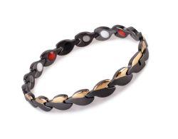 Bio-Energia cicatrização bracelete magnético jóias de Aço Inoxidável