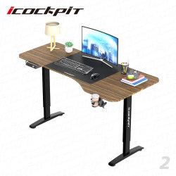 Casa moderna Icockpit Computador de elevação do Escritório de Turismo Electric tabela permanente ajustável em altura
