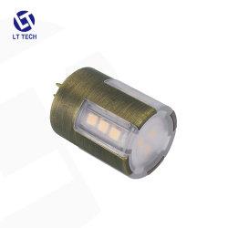 経路の照明デッキの照明のためのLt104 30Wハロゲン3W 9-17V AC/DC 400lm 2700K-6000K真鍮の構築防水G4