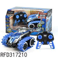 Afstandsbediening Auto voertuig 360 Spin 1: 24 2,4 GHz 4WD Dual Motors oplaadbare elektrische RC Toy Car