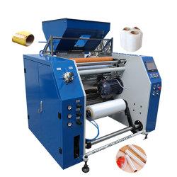 Máquinas de embalaje de plástico previamente automático Film Stretch rebobinadores