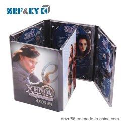 CD DVD van de douane Druk van de Replicatie van de Doos van de Gevallen van de Verpakking van de Dekking de Vastgestelde