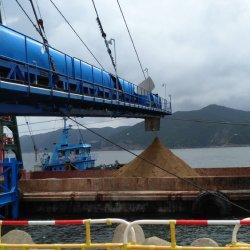 Ske сыпучих материалов загрузка ленты конвейера системы для погрузчика/ корабль/ поезд/ Автомотриса