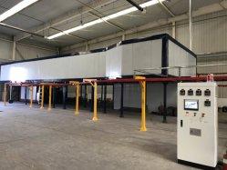 金属製品のための自動静電気の粉のコーティングラインコーティングのEuqipmentのペイントライン