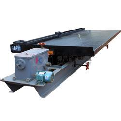 Concentração do minério de tungsténio máquina de mineração de ouro mesa vibratória