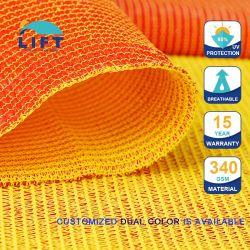 卸売品 100% バージン HDPE UV 保護 350g デュアルカラー美しい 屋外の Shade の帆の傘の Awning Playground のシェーディング Canopy 車公園 カバー Shade ネット