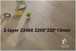 [220022015مّ/2-لر] هندس بلوط خشبيّة يبلّط /Brushed /Wood شمس, زيت [أوف]