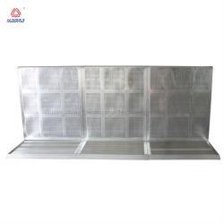 고품질 철회 가능한 알루미늄 군중 통제 방벽