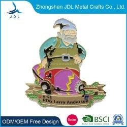 Горячая продажа специализированные сувенирные металлические подарок малых Санта-Клаус Санта-Клаус значки (142)