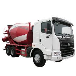 6X4 Vervoer van het Cement HOWO 10cbm Vrachtwagen van de Concrete Mixer voor Verkoop