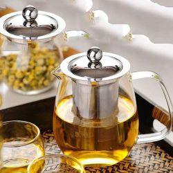 Glas Tee Topf Glas Topf Wasser Topf Glas Im Klassischen Design Kanne Glas Teekocher mit Deckel