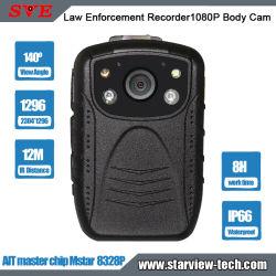 법 집행 기록자 AIT 마스터 칩 Mstar 8328p 1080p 경찰 차체 카메라