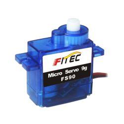 Feetech fs90 9g de rotação de 180 graus Servo Analógico Mini fs90
