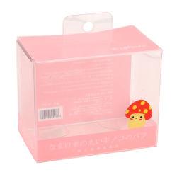 Esponja esfoliante de maquiagem, liquidificador embalagem, caixa de plástico personalizada